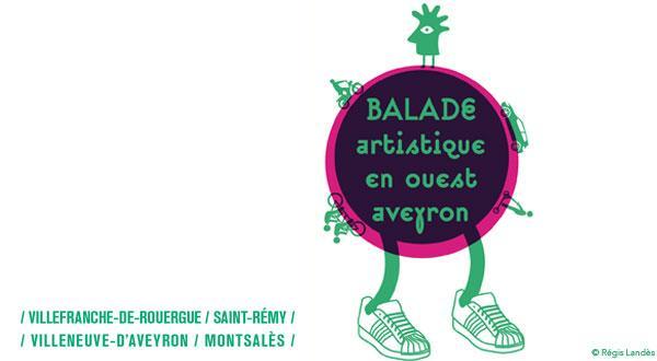 Balade artistique en ouest Aveyron