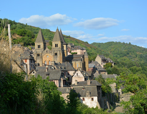 Conques, centre spirituel